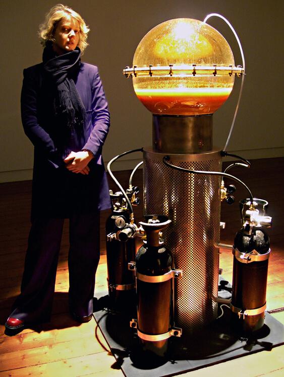 Blender-Nina Sellars in collaboration with Stelarc-2005
