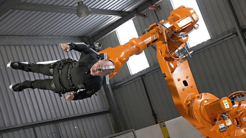 2. Propel- Body on Robot Arm