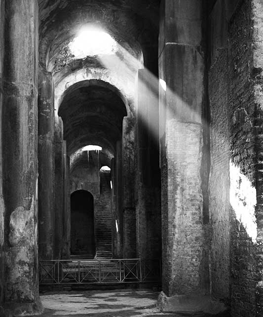 Piscina Mirabilis, Italy: longitudinal nave Courtesy: © Stefano Corbo