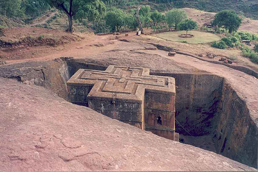 FIG.5 Bet Giyorgis church, Lalibela, Ethiopia Courtesy: © Armin Hamm