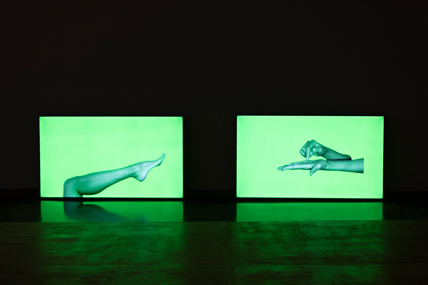 Rosana Antolí, Virtual Choreography. Courtesy of CCCC Valencia. Totalidad e Infinito Exhibition. 2018